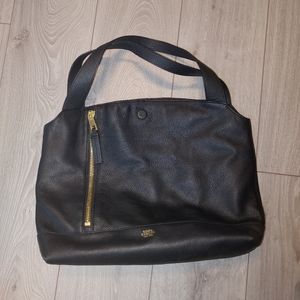 Vince camuto madox leather shoulder purse
